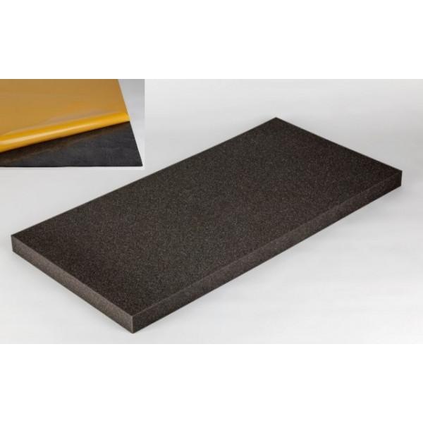 isolation phonique avec mousse acoustique. Black Bedroom Furniture Sets. Home Design Ideas