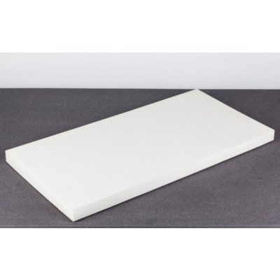 Polyethylene PE Foam, 100 x 50 x 5cm, white model polyethyW50