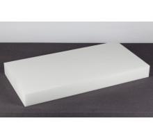 Schallschutz Schallabsorber stoffbespannt weiß aus Basotect® 100x50x10cm