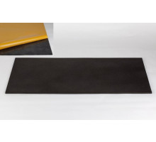 High quality flat foam material 100 x 50 x 3cm anthracite + skin adhesive